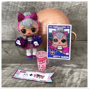 New LOL Surprise Kitty Queen All Star BB Doll Rare